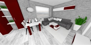 vizualizácie bytu v Lamači
