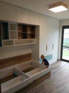 navrh nabytu do detskej izby
