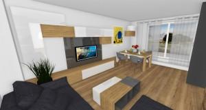 obývačka...