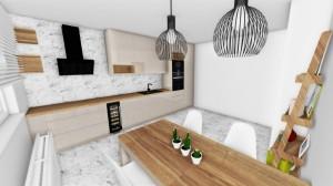 vizualizácia kuchyna