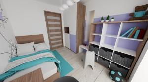 3D návrh detskej izby