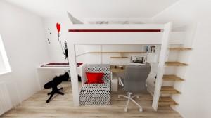 Detská izba pre 2 deti