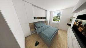 Dizajnová spálňa
