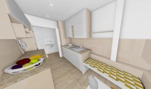 béžová kuchyna dizajn