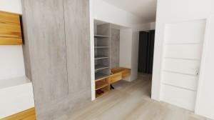 nábytok do chodby dizajn