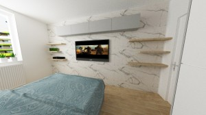 stena s TV